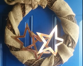 star spangled wreath