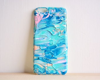 what is on your smartphone case? Claude Monet's garden