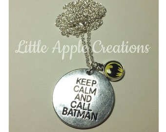 Batman Necklace FREE SHIPPING
