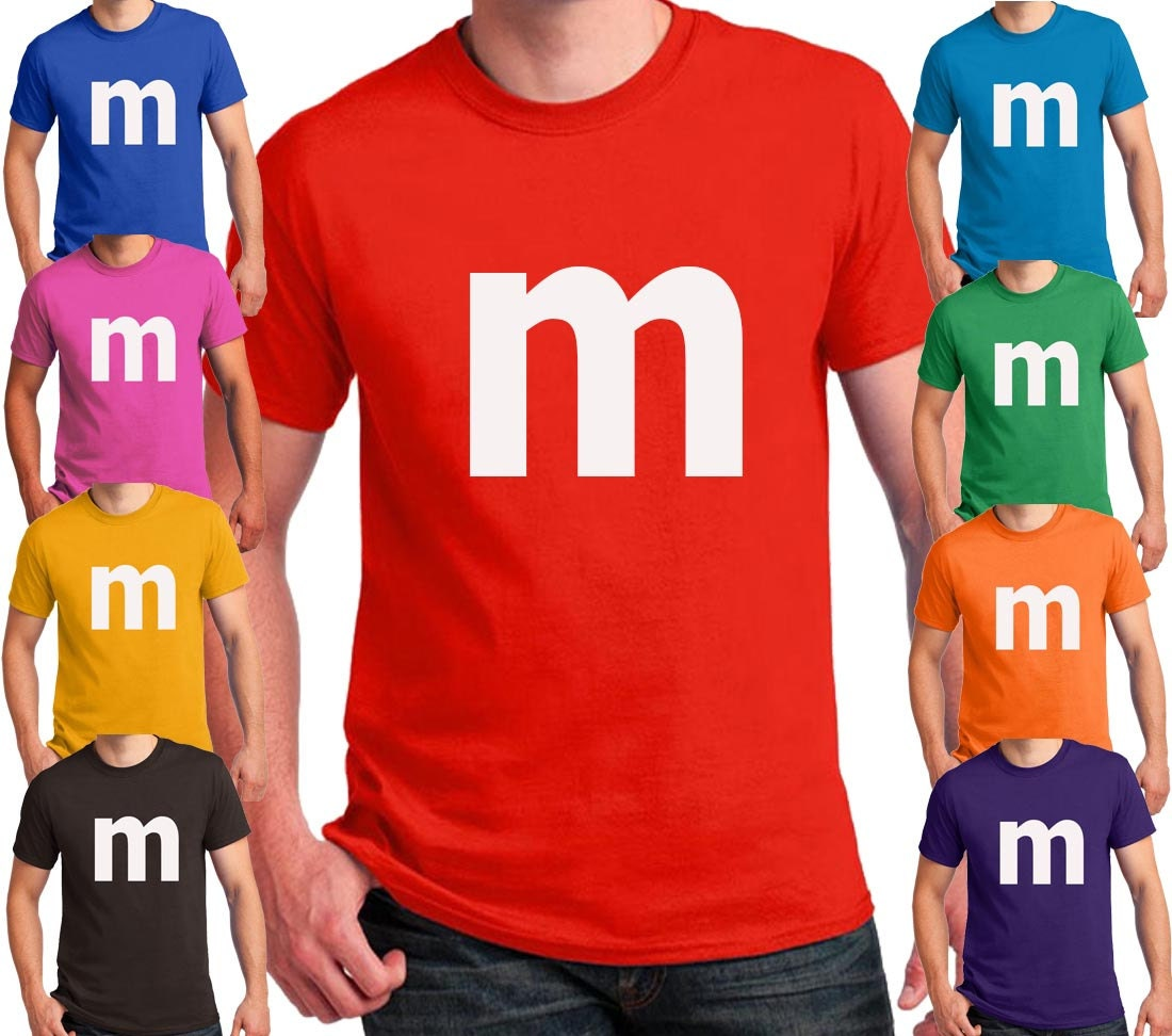 M print t shirt halloween costume cosplay candy t shirts for Costume t shirts online