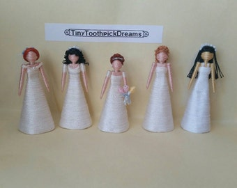 Bride Toothpick Doll/Ornament