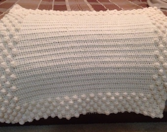 Crochet Puff Bath Mat
