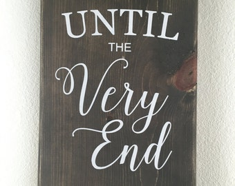 Until the very end. Harry Potter