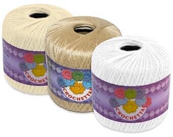 Crochetta Crochet Cotton/Yarn No.10 65g - 411m