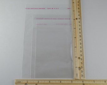 Wholesale HOT! Jewelry Clear Self Adhesive Seal Plastic Bags