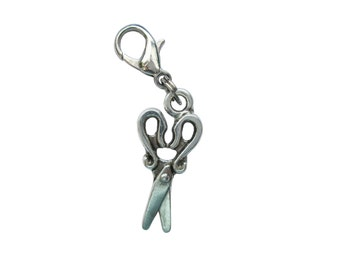 Scissors pendant of charms charm bracelet Exchange trailer 3D trailers