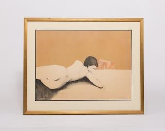 Vintage Figural Print