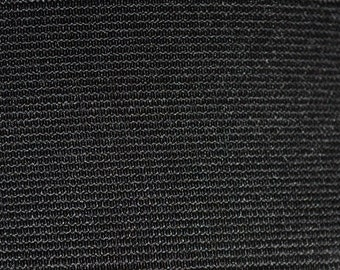 "10 yards of 2 "" black ribbed elastic"