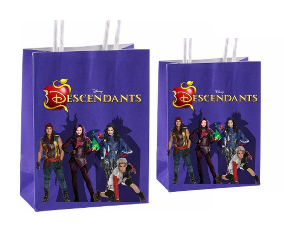 Disney Descendants Printable Party Favor Bag