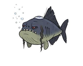 Happy Piranha-kkah.