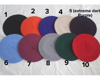 Cute Wool French Berets