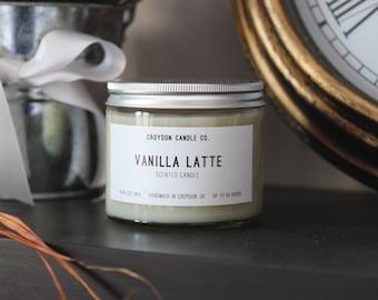 VANILLA LATTE  Soy Jar Candle