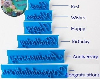 Stamp Imprint, Birthday Imprint, Anniversary Imprint, Best Wishes Imprint