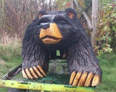 Chainsaw carved Bear sculpture