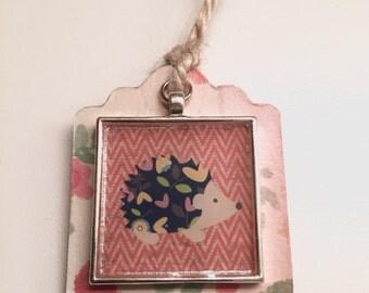 Porcupine Charm Bookmark