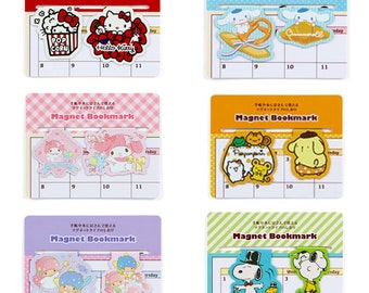 Sanrio Characters Bookmark Clips