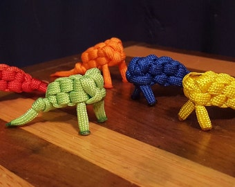 Paracord Frogs - set of 5