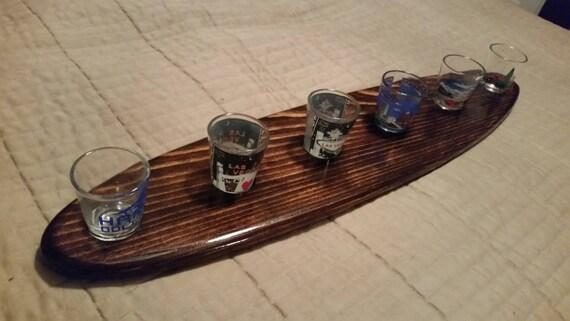 planche de surf en forme 6 verre plateau longboard style fait. Black Bedroom Furniture Sets. Home Design Ideas