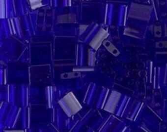 Tila Bead- Tr Cobalt  #151  Miyuki Tila Beads - 10 grams