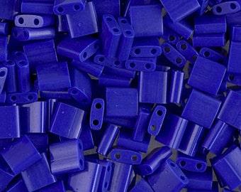 Tila Bead- Op Cobalt  #414  Miyuki Tila Beads - 10 grams