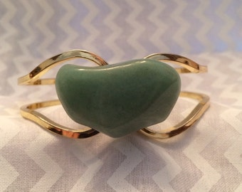 Soft Green Amazonite Bracelet