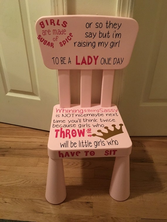 kids time out chair time out kids chair by glitterngolddesigns. Black Bedroom Furniture Sets. Home Design Ideas