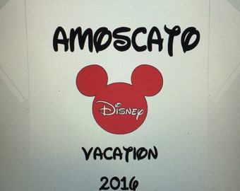 Disney family vacation t shirt