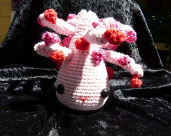 Amigurumi Tree - pink/red crochet