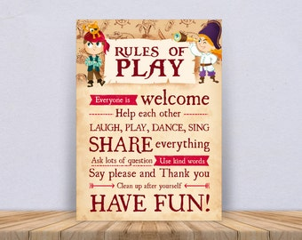 Print Rules of Play Pirate – 1