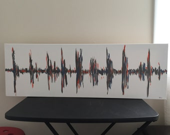 Sound Waves on Canvas
