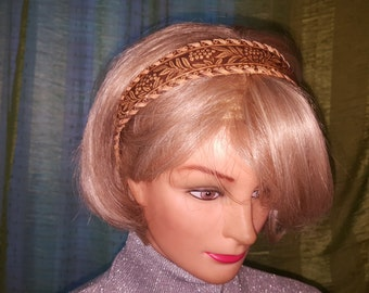 Birchbark hair headband