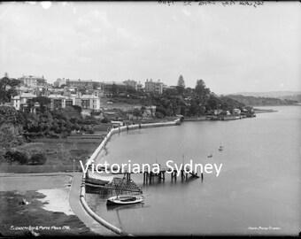 Elizabeth Bay and Potts Point c.1880