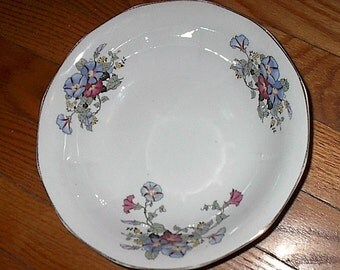 Morning Glory Penn China Serving Bowl