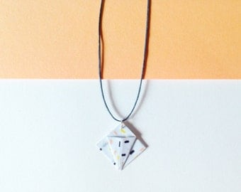 Origami XX Pastel necklace