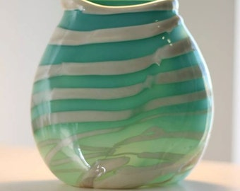 Custom Handblown Glass Vase
