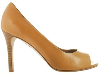 SALES, Beige open toe pump, Handmade in Italy, Designed in Paris,  Beige leather sandal, Open toe stiletto, Genuine leather shoes, Cape Town