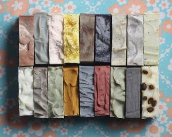 Entire Soap Collection, Vegan Soap Set, All Natural Soap, Clay soap, Scented Soap, Unscented Soap, Cold Process Soap, Artisanal Soap Set