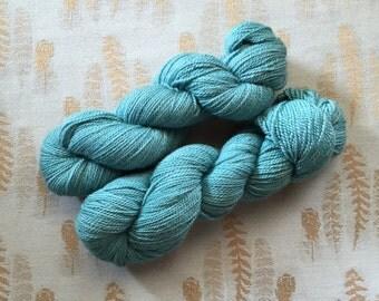 Hand dyed australian alpaca yarn, 4 ply, fingerling, sport