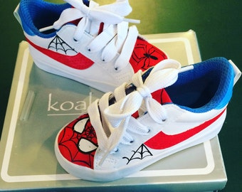 Spiderman toddler shoes