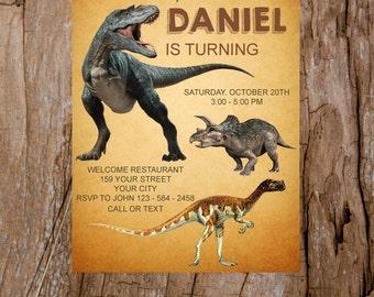 Wild Safari Invitation, Zoo Invitation, Animal Party Invitation , Party Animals Birthday Invitation - Printable Invitation| M1