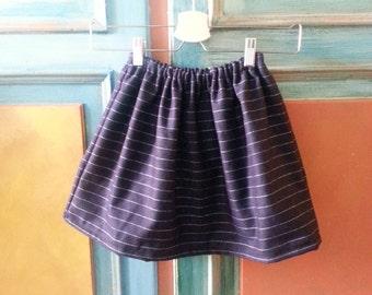 Wool skirt girl