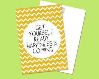 Carte Postale - Get Yourself Ready