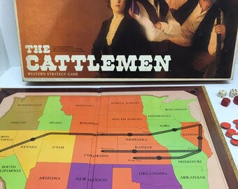 The Cattlemen Board Game