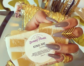 KING ME! Exclusive - Gold & White Handcrafted Glycerin soap