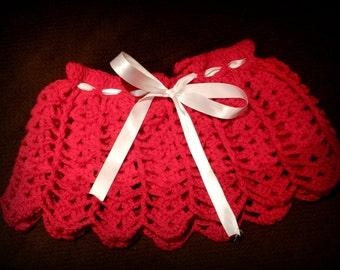 Skirt red Stamen