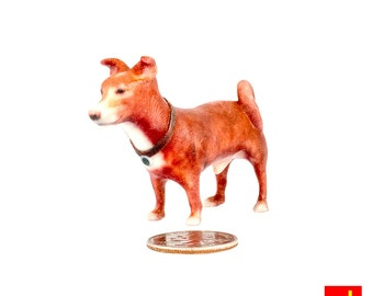 Miniature Dog Figurine - Miracle (Terrier Mix)