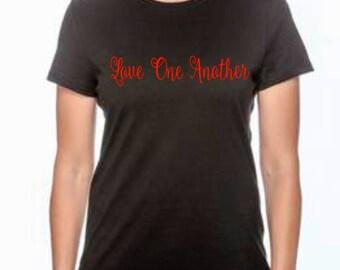 Love One Another Christian Shirt/T-shirt
