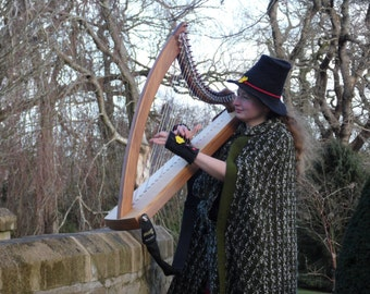 The Welsh hat- Het traddodiadol
