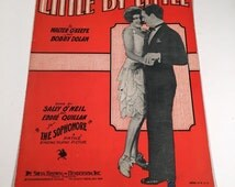 Little by Little, 1929 Vintage Sheet Music