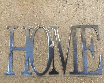 Industrial Home Metal Sign